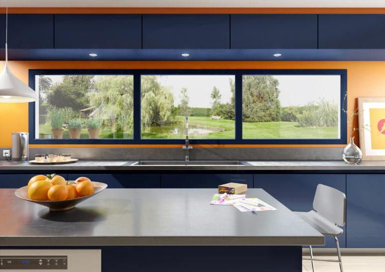 Les fenêtres PVC vous en font voir de toutes les couleurs !