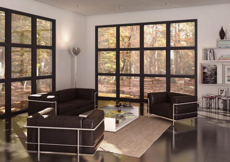 Le noir, LA couleur Tendance 2019 des fenêtres PVC